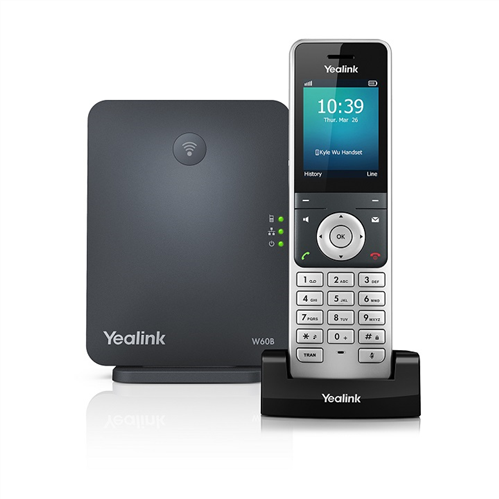 Portable (DECT) SIP Phone with SIP DECT Base Station