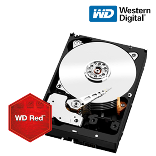 6TB Red SATA 6 Gb/s Hard Disk for NAS Appliances