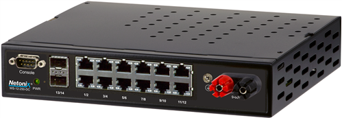 12-Port POE Manged Switch with 2 SFP Ports, 250W, Passive PoE