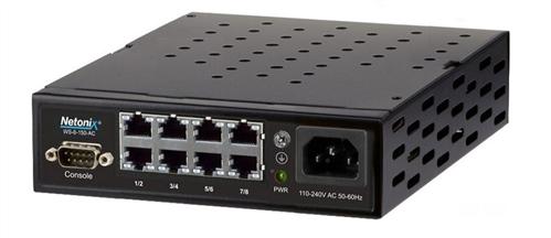 8-port POE Manged Switch, AC Powered, 150W, Passive PoE