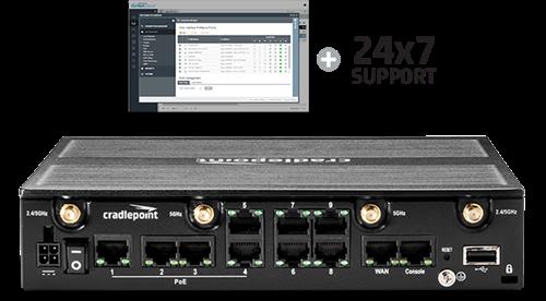 Cradlepoint BA3-2200120B-PWP