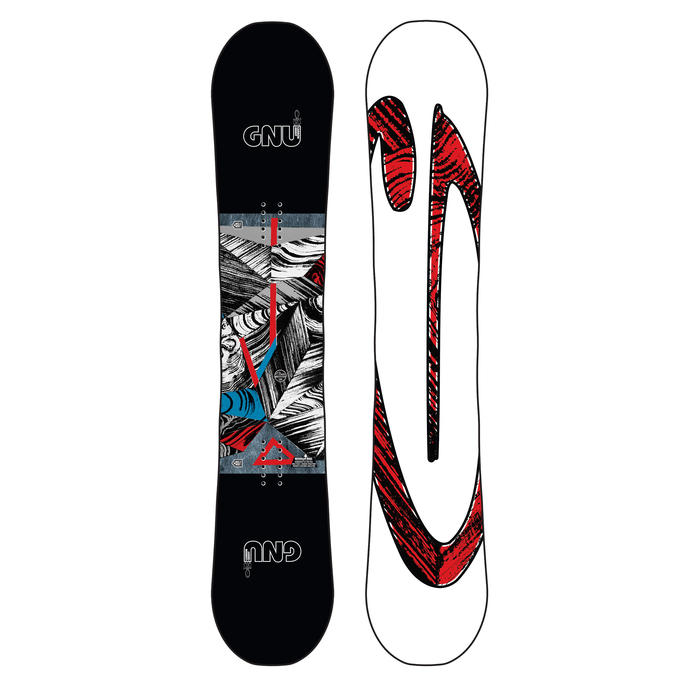 Gnu Asym Carbon Credit BTX Snowboard 20