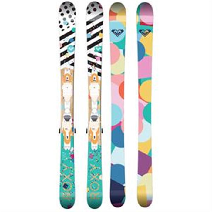 Roxy Bonbon Kids Ski + Xpress B83 Binding