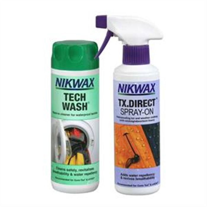 Nikwax Tech Wash + Direct Spray-on