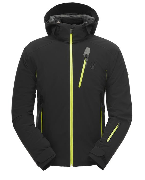 Spyder Vanqysh Jacket - Black/Acid