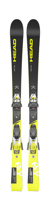 Head WC iRace Team Kids Ski + SLR 4.5 GW AC Binding A