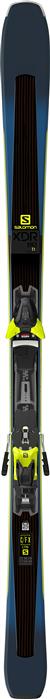 Salomon XDR 80 TI Ski + E Z12 Binding