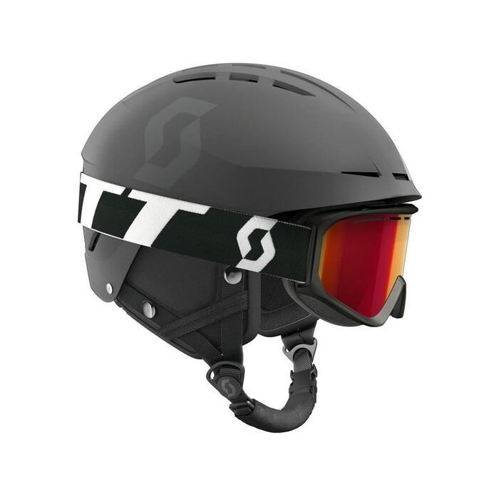 Scott Apic Helmet Combo + Fact Goggle