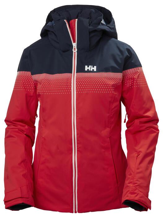 Helly Hansen Motionista Wmns Jacket Alert Red