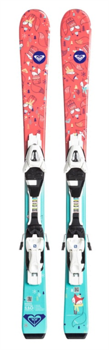 Roxy Bonbon Kids Ski + C5 Binding