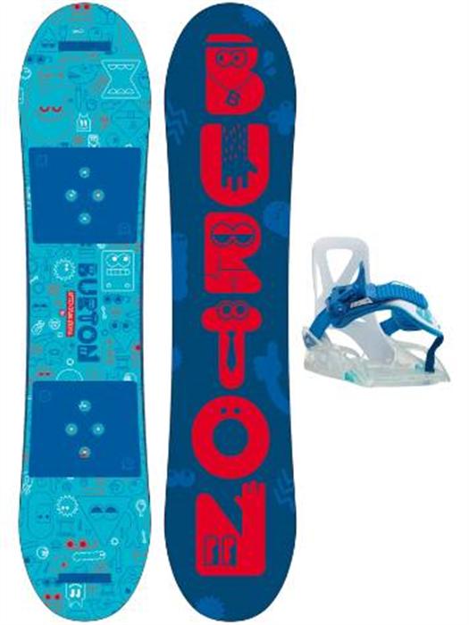 Burton After School Kids Snowboard + Binding