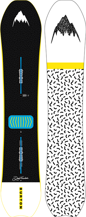 Burton Deep Thinker Snowboard 19