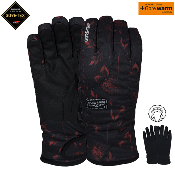 Pow Crescent GTX Short Wmns Glove 18