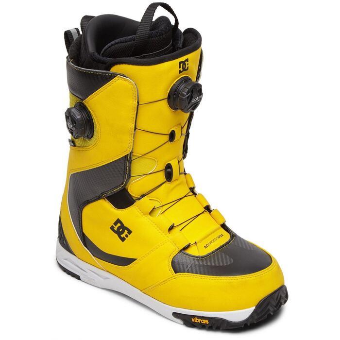 DC Shuksan Boa Snowboard Boot - Yellow