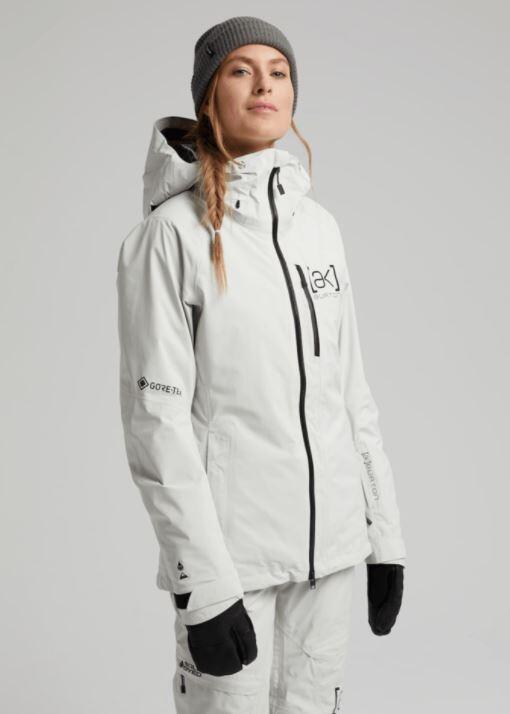 Burton AK Gore Upshift Wmns Jacket -Solution Dyed Light Gray