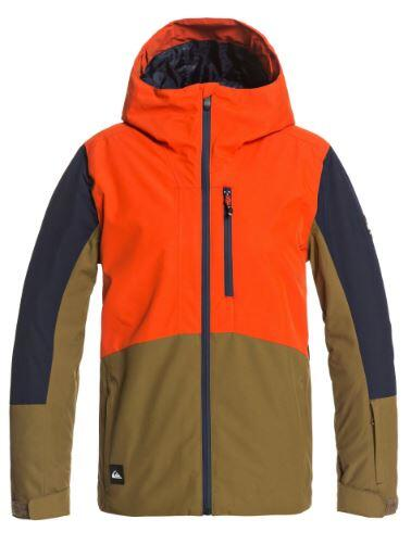 Quiksilver Ambition Kids Jacket - Pureed Pumpkin
