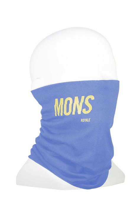 Mons Royale Double Up Neckwarmer - Blue Fog
