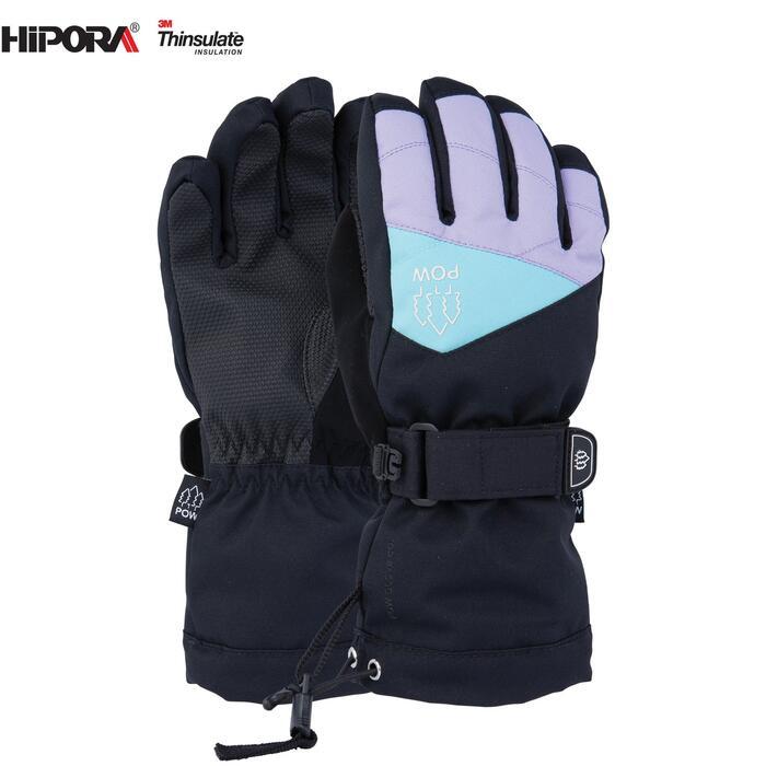 Pow Ascend Kids Glove - Grape