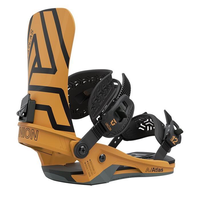 Union Atlas Snowboard Binding - Mustard Yellow