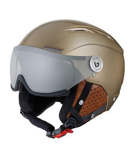 Bolle Backline Visor Premium Helmet - Shiny Gold Cognac
