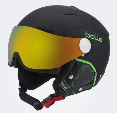 Bolle Backline Visor Premium Helmet - Soft Black Green