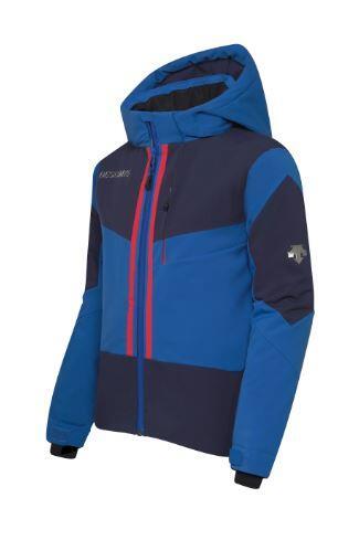 Descente Beckett Kids Jacket - Nautical Blue
