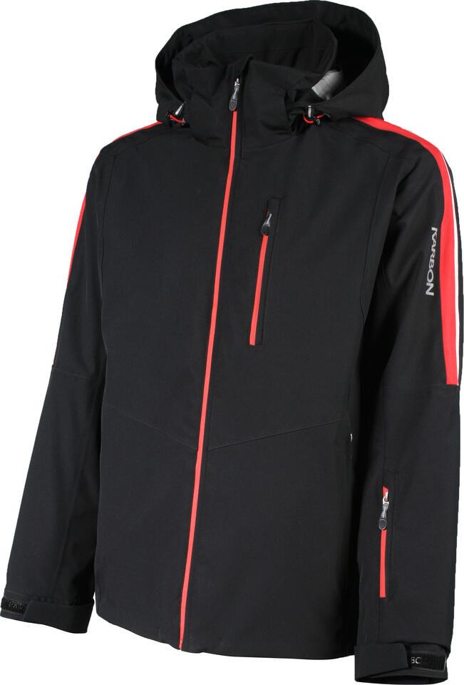 Karbon Beryllium Jacket - Black/Red/Glacier