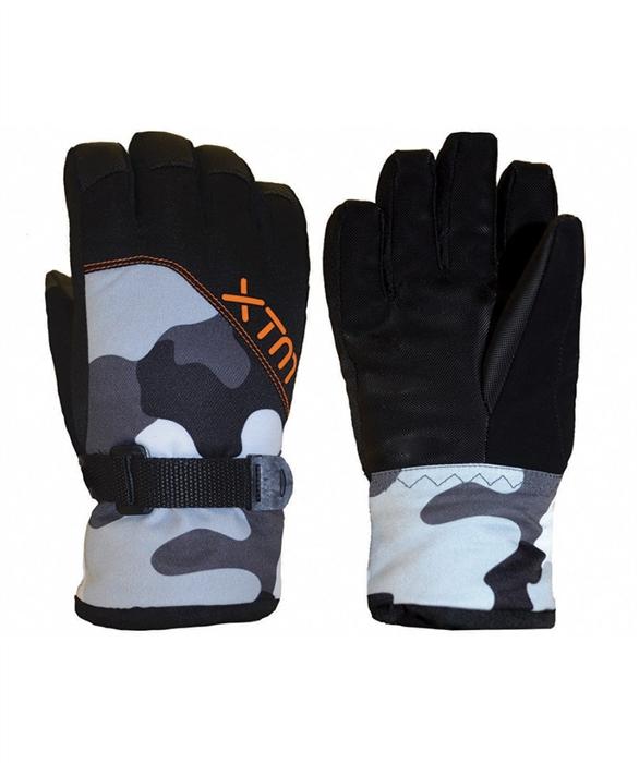 XTM Zoom Kids Glove - Snow Camo