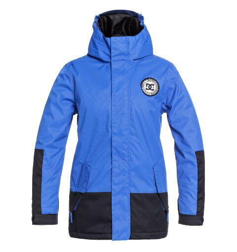 DC Blockade Youth Kids Jacket - Iolite Blue