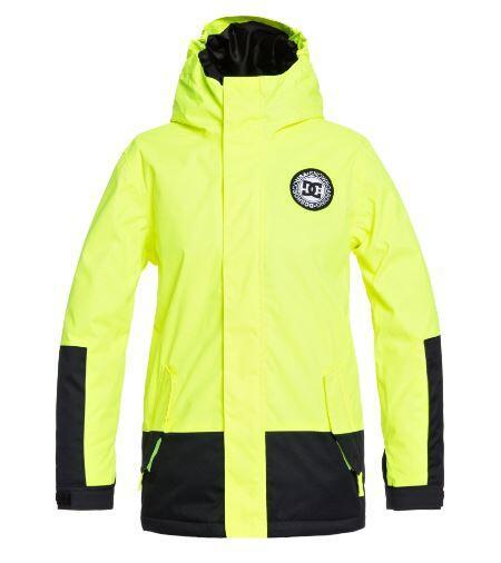 DC Blockade Youth Kids Jacket - Safety Yellow