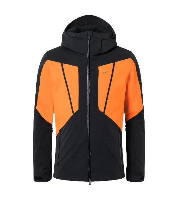 Kjus Boval Jacket - Black/ Orange