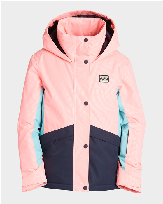 Billabong Kayla Girls Jacket - Peach