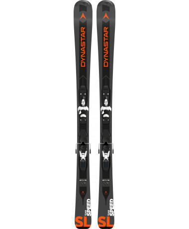 Dynastar Team Speed Ski Black + Kid-X 4 Binding