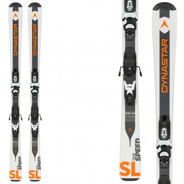 Dynastar Team Speed Ski White + Kid-X 4 Binding