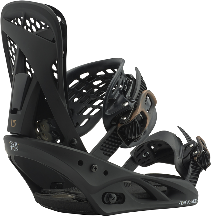 Burton Escapade Wmns Snowboard Binding - Black N Bronzed