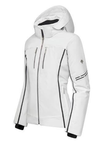 Descente Evangeline Wmns Jacket - Super White