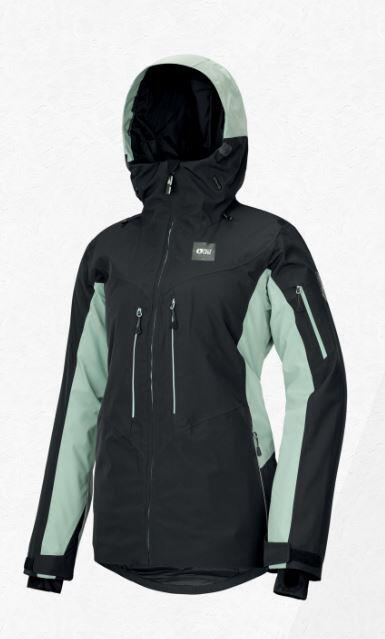 Picture Exa Wmns Jacket - Black/ Almond Green