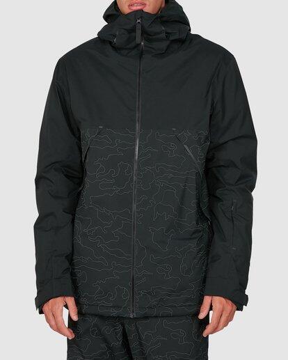 Billabong Expedition Jacket - Black Reflective Camo