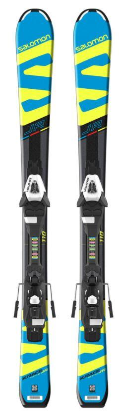 Salomon E X-Race JR S Kids Ski + E C5 Binding