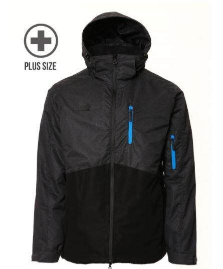 XTM Finn Plus Jacket - Black/ Black Denim