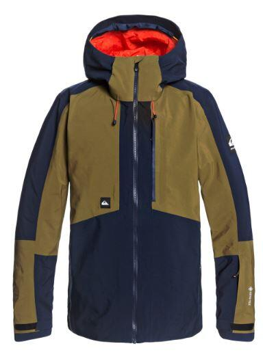 Quiksilver Forever 2L Gore-tex Jacket - Military Olive