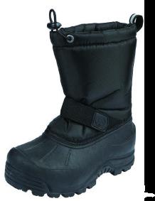 Northside Frosty Toddler Kids Snow Boot - Black