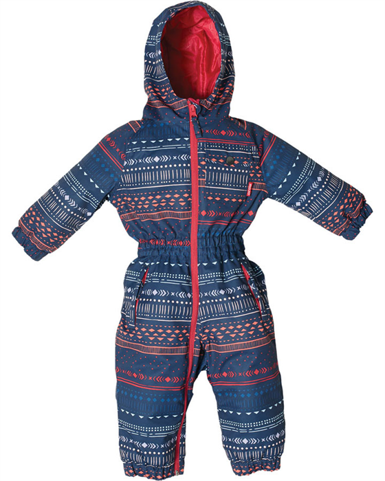 Rojo Girls Onesie Wildlings