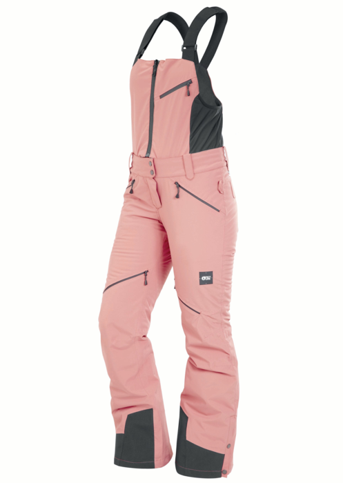 Picture Haakon Wmns Bib Pant - Misty Pink