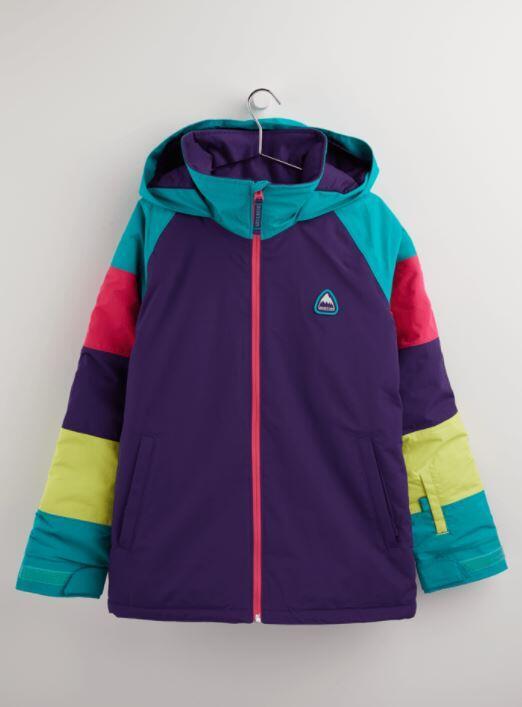 Burton Hart Kids Jacket - Parach/Ranbow