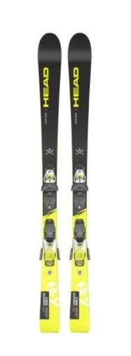 Head WC iRace Team Kids Ski + SLR 7.5 GW AC Binding A