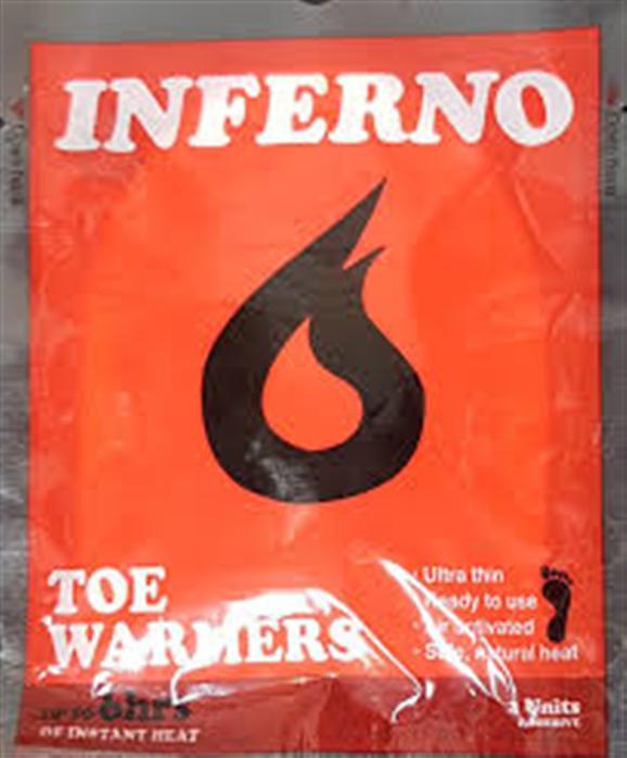 Inferno Toe Warmers