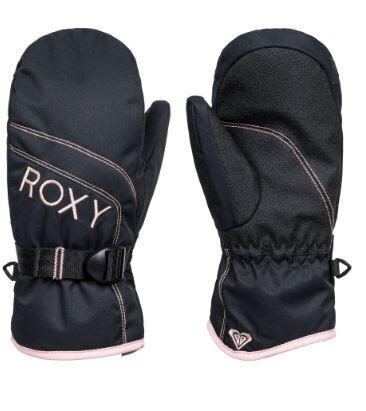 Roxy Jetty Kids Solid Mitt - True Black