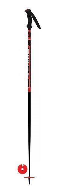 Kerma Vector Team Kids Ski Pole - Black