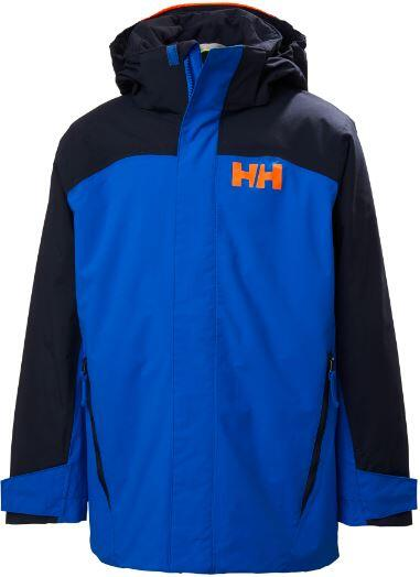 Helly Hansen Level Kids Jacket - Sonic Blue